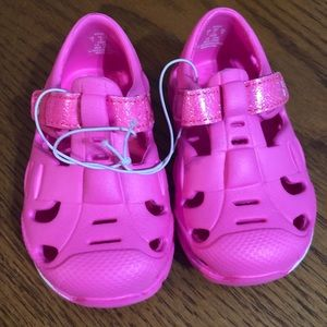 Baby Girl Pink Sandal Clogs Size 3